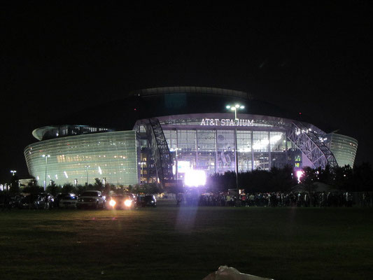 Stadium by night