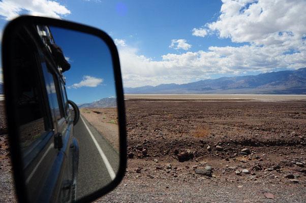 Fahrt durch den Death Valley