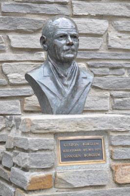 Der Skulpturenchef vom Mount Rushmore