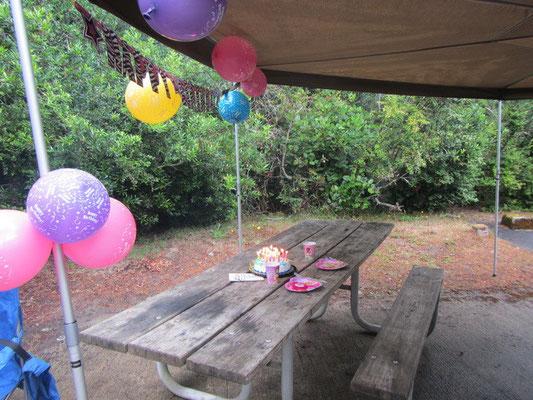 Meine Geburiparty auf dem Camping