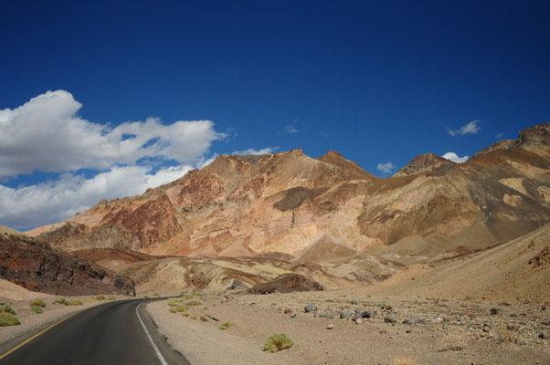 Death Valley National Park - Fahrt auf dem Artist Drive