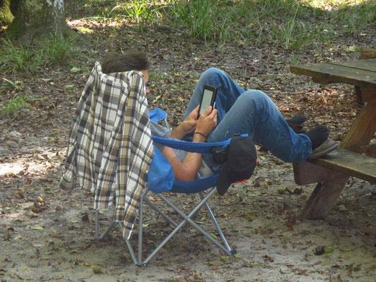 Relaxen und Lesen