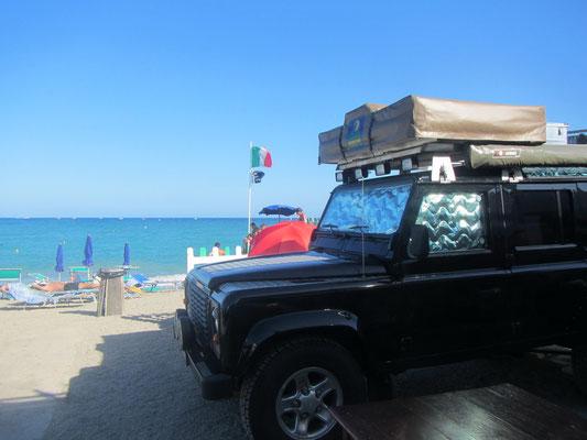 Camping Platz in Italien