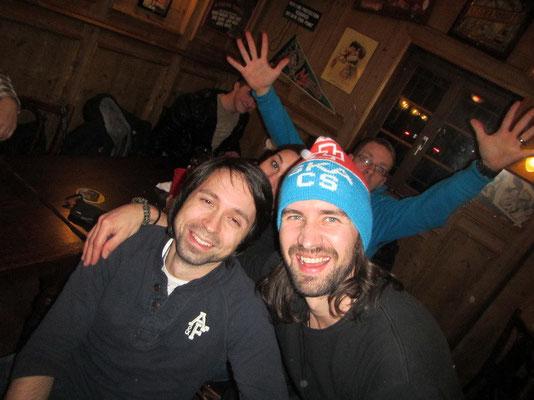 Die heiss geliebte SKA Kappe, die Mike von Toni zum Abschied erhalten hat!