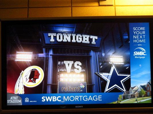 Cowboys vs. Redskin