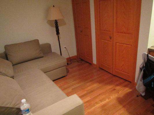 Unser Zimmer in Pittsburgh