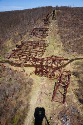 Zerstörung nach dem Tornado im 2003