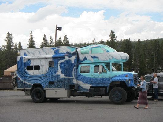 crazy Fahrzeug