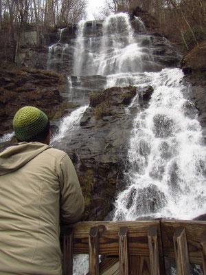 Amicalola Falls von unten