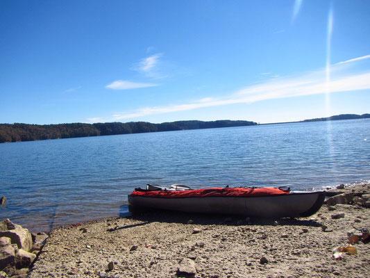 Campingausflug Lake Jocassee SC - Justins Kanu