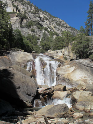 Kings Canyon zu den Mist Falls