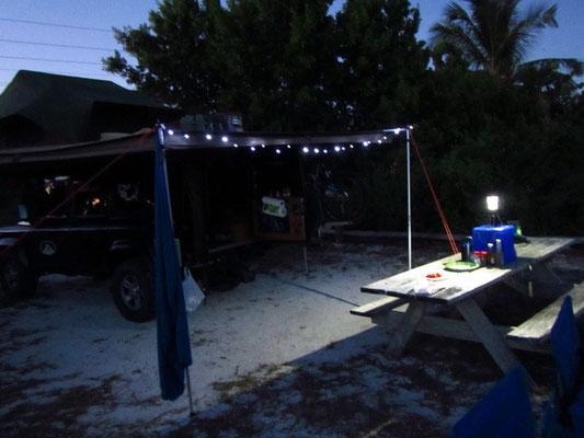 Schöner Campingplatz direkt am Meer in Long Key State Park....aber voll Moskitos