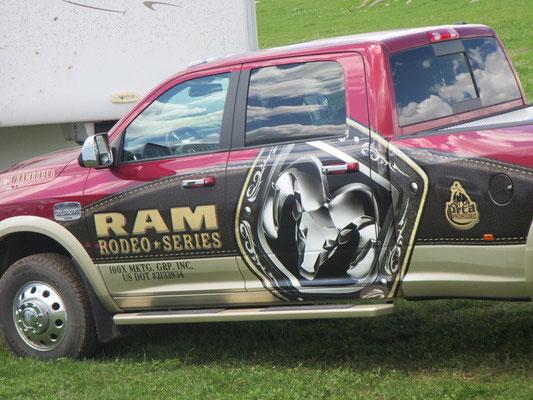 Hauptsponsor Dodge RAM