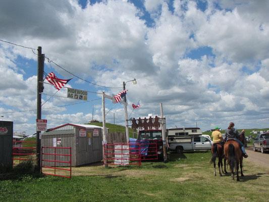 Eingang zum Rodeo