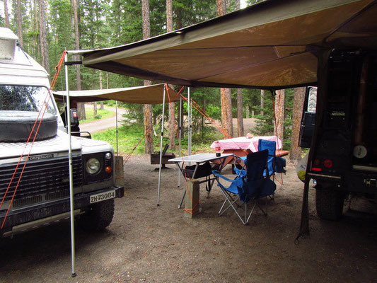 Basecamp in Lake Louise