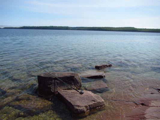 Unglaublich klares Wasser - Lake Superior