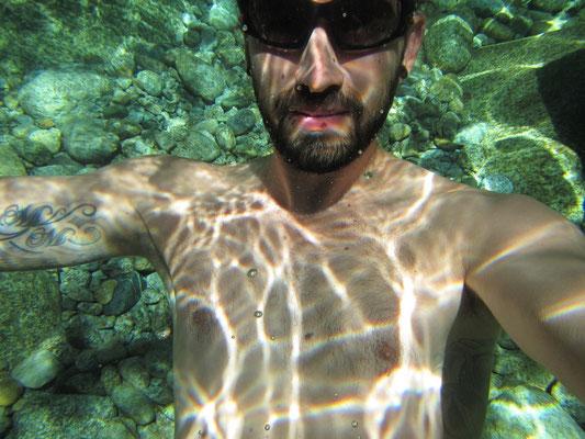 Unglaublich klares Wasser