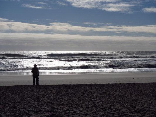 Tortz Kälte....Traumhafter Strand