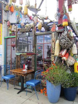 Lustige Restaurants an der Bayfront in Newport