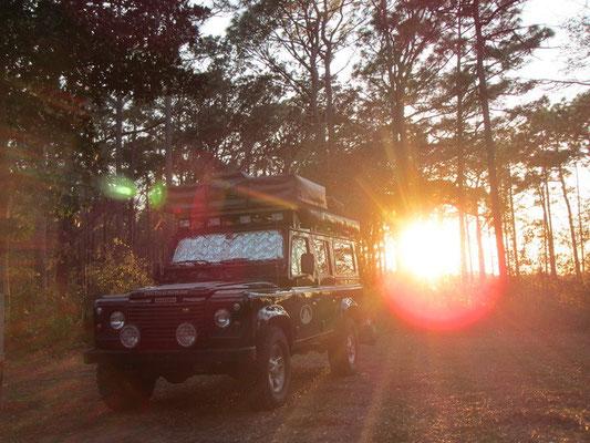 Herrliche Sonnenuntergänge....