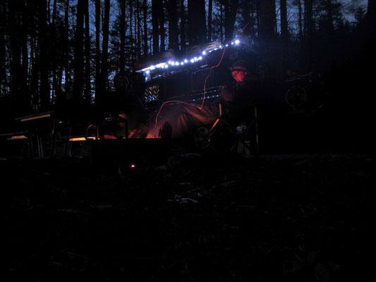Unsere neue LED Beleuchtung für Bagheera oder die Hängematte