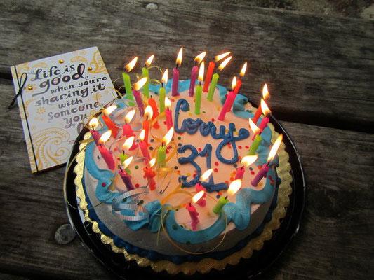 Yuhhee mein Geburtstagskuchen