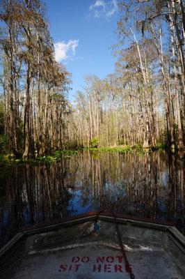 Meilen für Meilen durch den Sumpf
