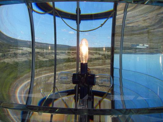 Oben auf dem Leuchtturm