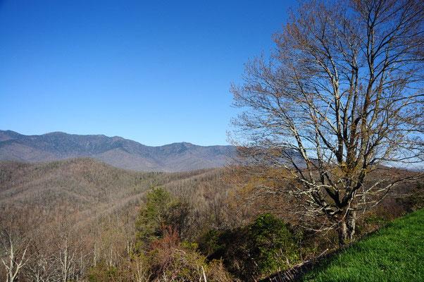 Blue Ridge Parkway Aussicht