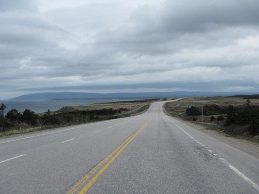 Trans-Canada Highway in Neufundland
