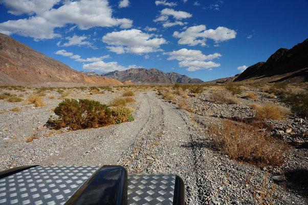 Offroad Fahrt im Death Valley