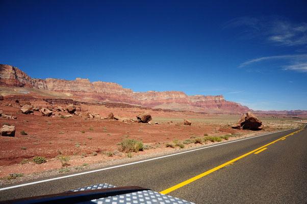 Fahrt durch das schöne Arizona
