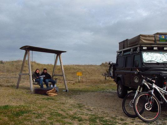 Camping auf Hatteras Island