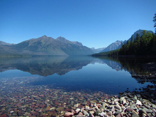 McDonald Lake im Glacier National Park