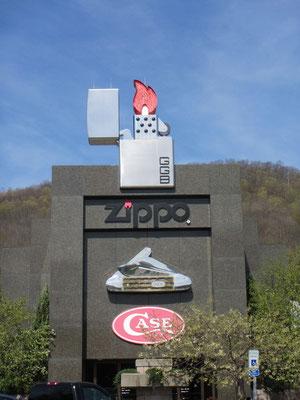Zippo Museum Eingang
