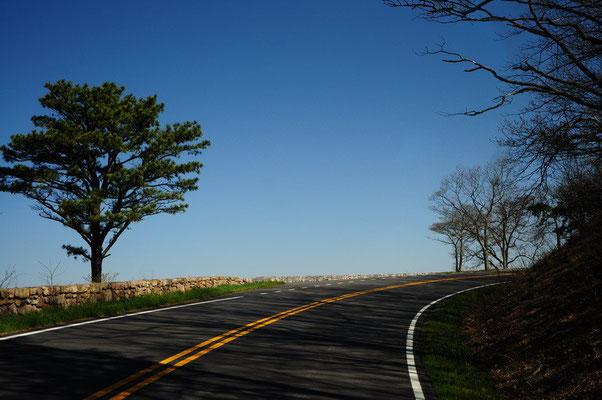 Skyline Drive im Shenandoah National Park
