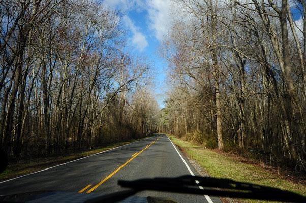 Schöne Fahrt zu den Outer Banks