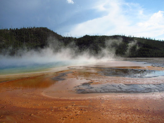 Yellowstone National Park- Grand Prismatic Spring