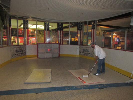 Spielplatz im US Hockey Hall of Fame