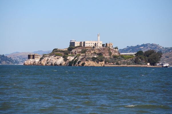 Das ehemalige Gefängnis Alcatraz