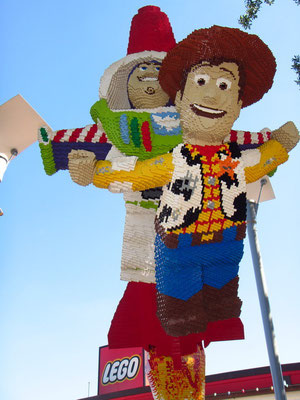 Downtown Disney - alles aus Lego