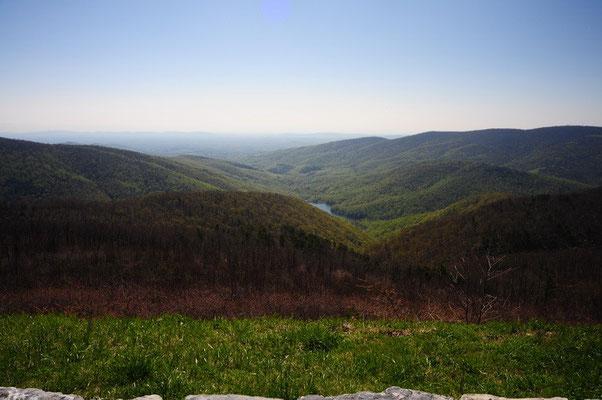 Aussicht Shenandoah National Park