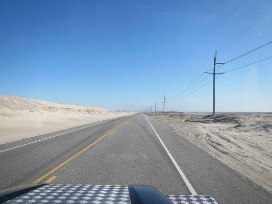 Fahrt entlang des Highway 12
