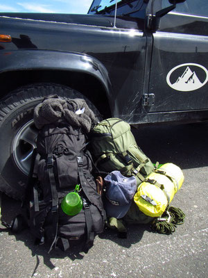 Start in unser Backcountry Trip