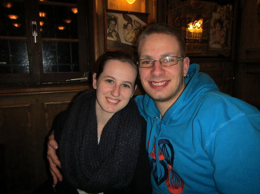Mike's Bruder Bryan mit Freundin Jessica