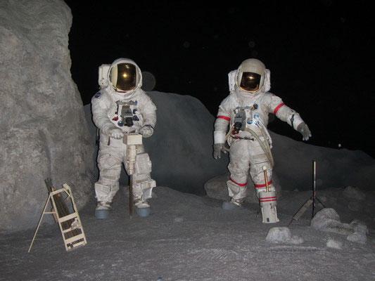 Nachstellungen von der Mondlandung