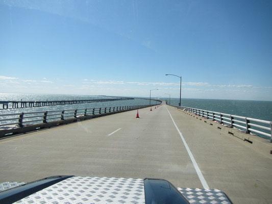 Fahrt über die bekannte Cheasapeak Bridge