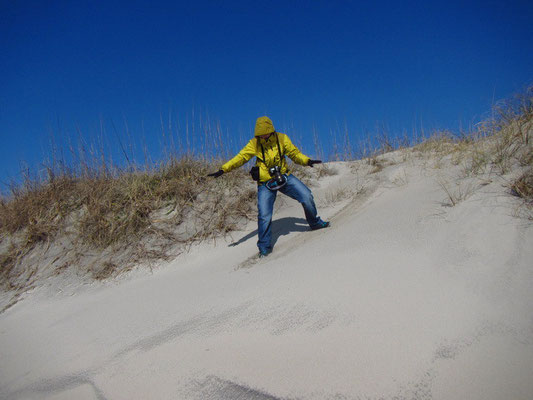 Surfen leider nur auf dem Beach in Ocracoke Island