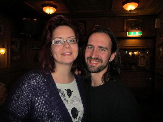 Mike mit Schwester Manu