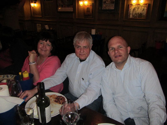 Mike Mam mit Corry's Papi und Bruder Oli